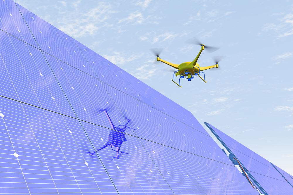 servizi con drone ispezioni termografia fotogrammetria riprese aeree pannelli fotovoltaici