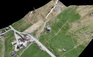 nuvola di punti drone aerofotogrammetria curve di livello droni professionali