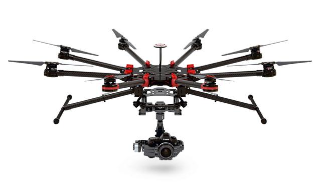 s1000 dji noleggio drone professionale riprese aeree video