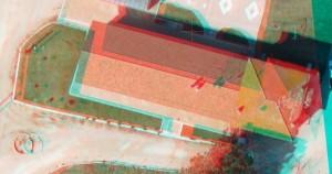 stereoscopia 3d drone topografia curve di livello