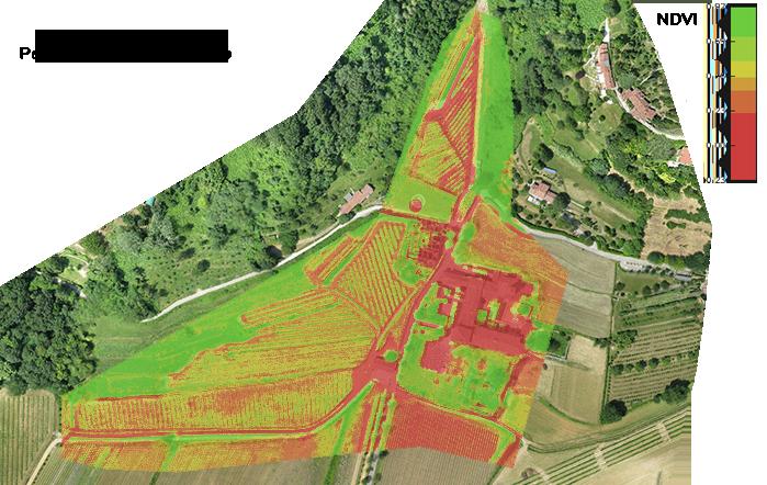 Rilievo con Drone del Complesso Di Astino Bergamo