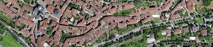 riprese aeree con drone Bergamo vendita droni professionali per ispezioni termografia fotogrammetria sensori per drone