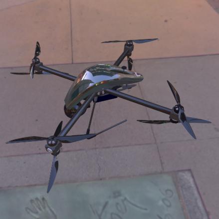 Horus Dynamics ZERO, Drone per rilievi termografici