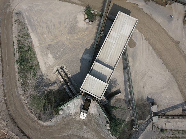 Photogrammetry of a quarry with Horus Dynamics drones