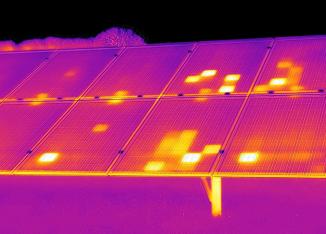 Horus Dynamics drone termico pannelli fotovoltaici