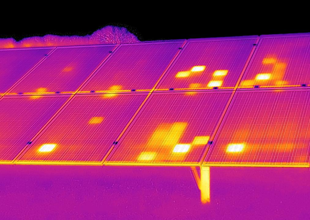 termografia fotovoltaico drone termocamera flir termografia bergamo