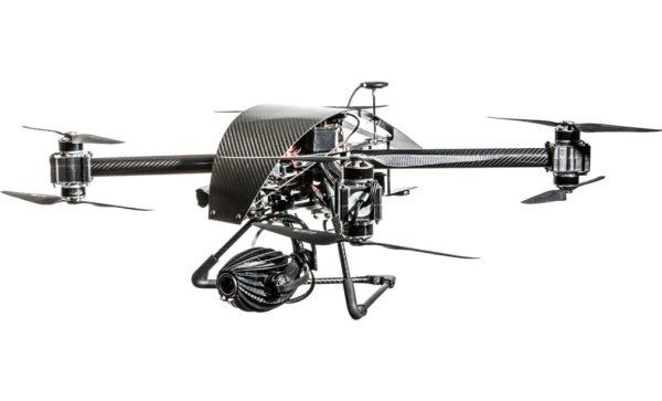 noleggio drone termografia termocamera flir