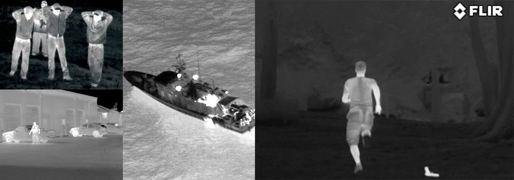 ricerca e soccorso ispezioni drone con termocamera sicurezza sorveglianza