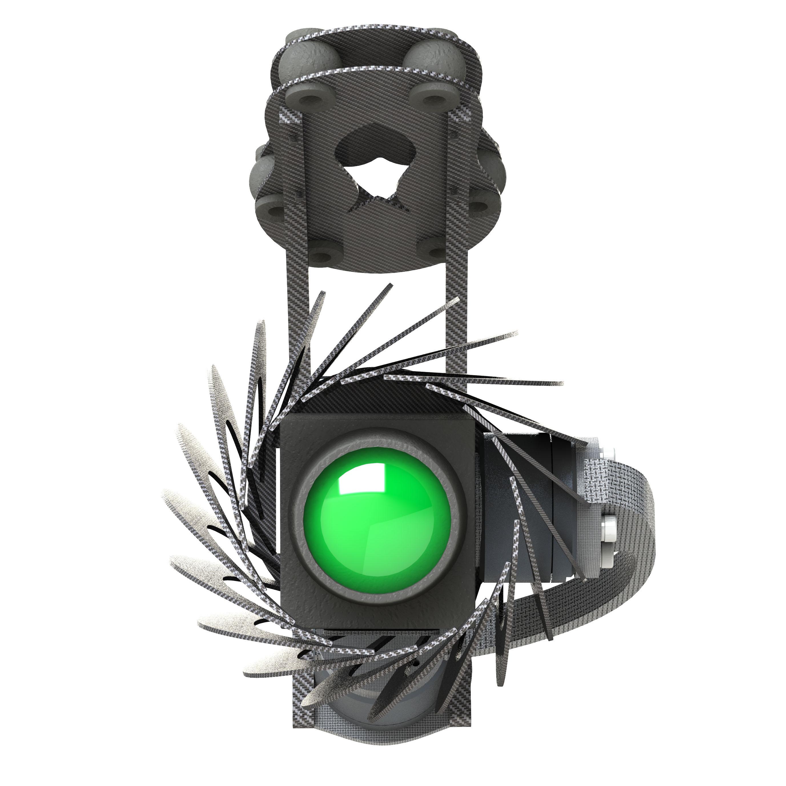 Gimbal for FLIR A65 thermal imaging Cameras