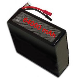 batterie droni LiPo 6S 64000 prezzo vendita