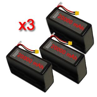 batterie lipo 6s 20000 vendita-batterie-s800-s900-s1000 pack