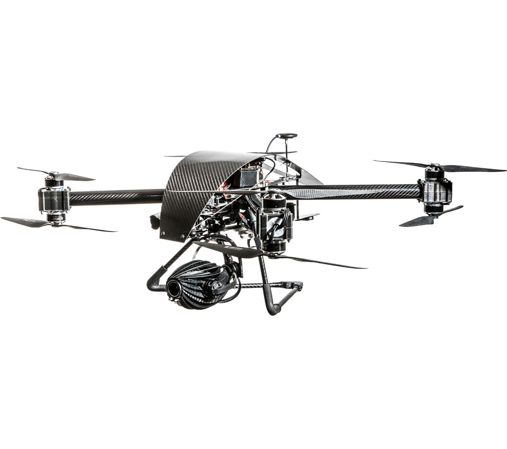 noleggio drone termocamera flir