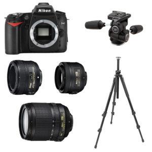 noleggio nikon d90 kit ready