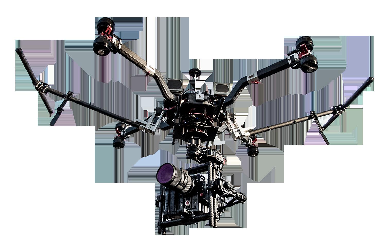 drone red epic bergamo professionale