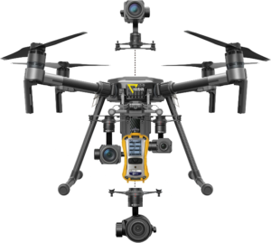 drone sensori gas