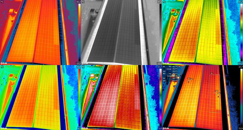 ispezioni fotovoltaico con drone