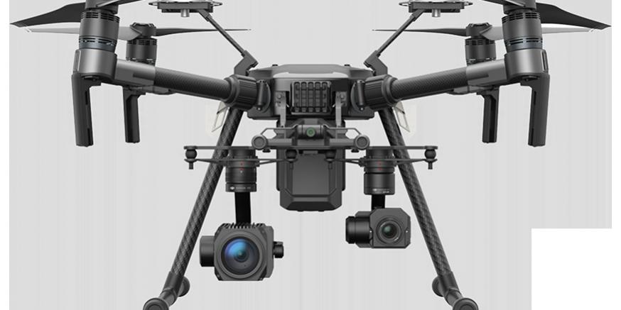 drone con termocamera